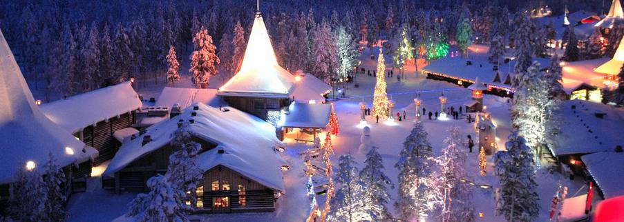 Extrêmement Rovaniemi, le village du Père -Noël sur le cercle polaire  BA17